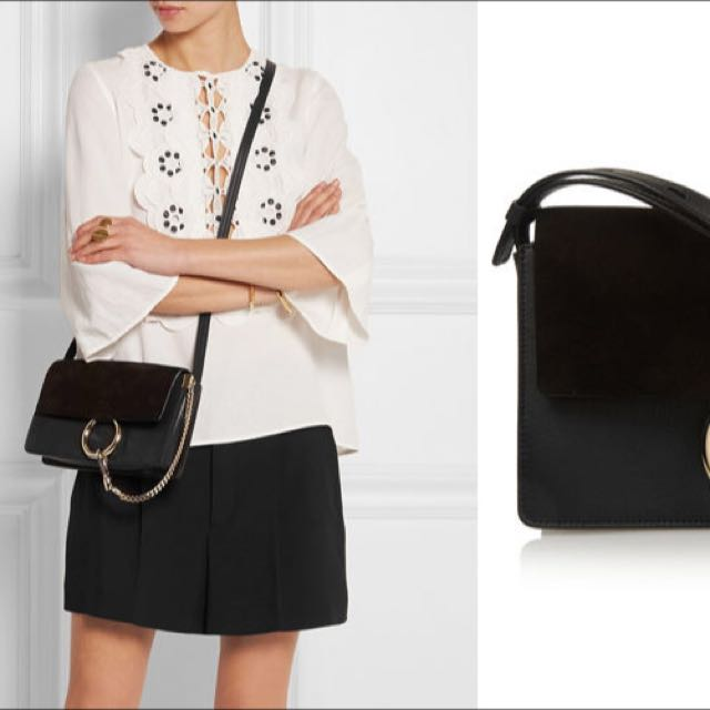79cd87ac40 BNIB Chloe Faye (black), Luxury on Carousell
