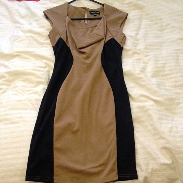 CAROLINE MORGAN Illusion Dress