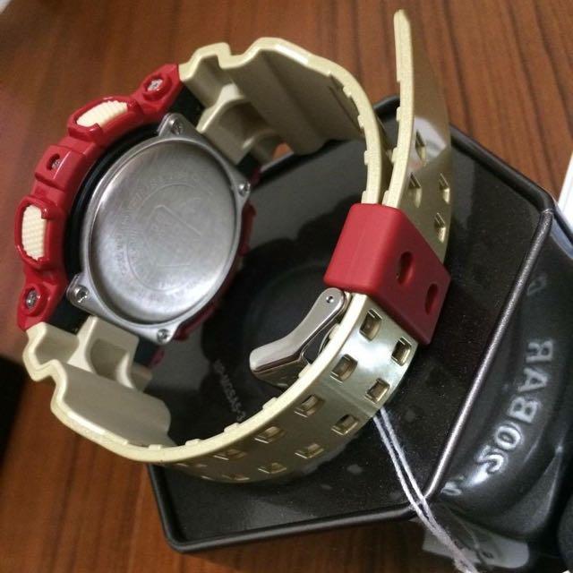 (保留中)賤賣求售 鋼鐵人系列全新G-SHOCK手錶 附保卡