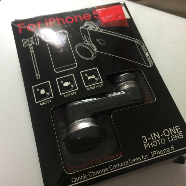 iPhone 5/5s/se 魚眼 廣角鏡頭