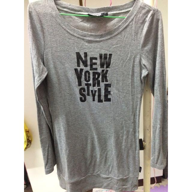 JoJo 文字 T恤 灰色