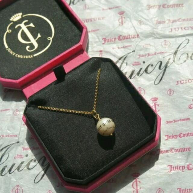 正品juicy couture珍珠項鏈含運