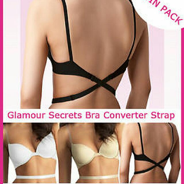Low Back Bra Strap Converters for sexy low back 5658c8691