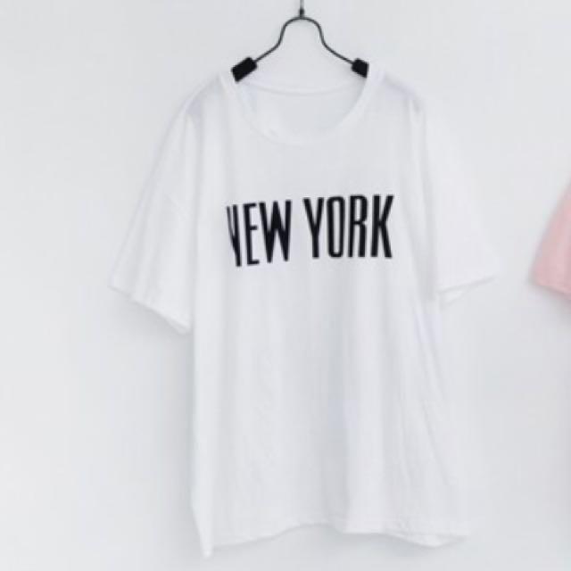 (含運)New York圓領棉質上衣