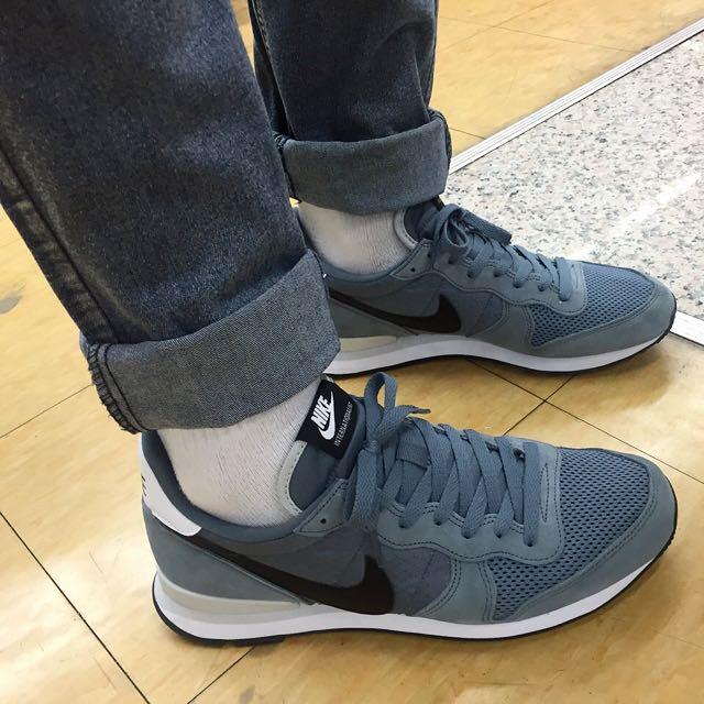 NIKE INTERNATIONALIST 黑灰復古慢跑鞋【代售】