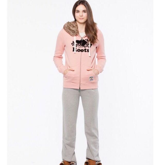 全新正品Roots 女生植絨絨毛厚棉連帽外套  尺寸 XS S M L XL  少量現貨 含吊牌
