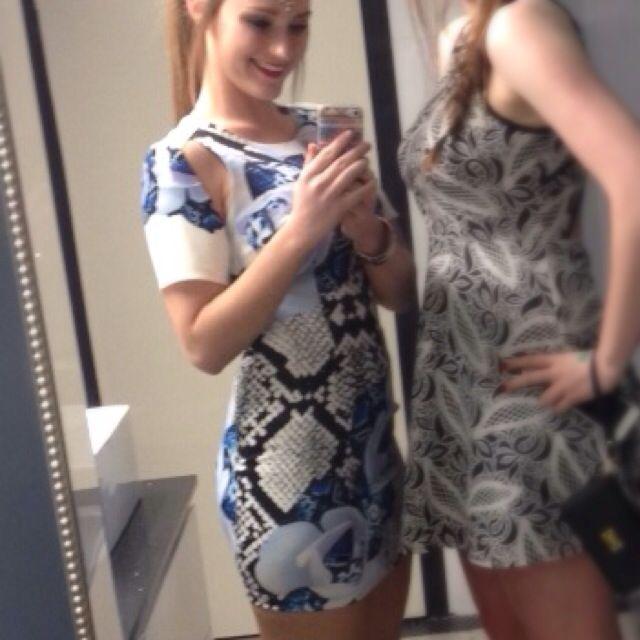 SAINTS SECRETS cuffed Sleeve Party Dress