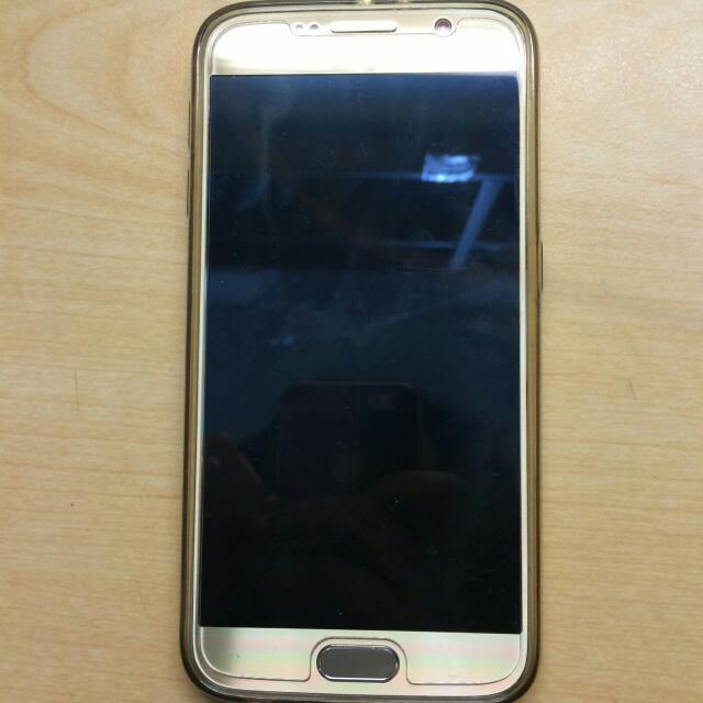 Samsung Galaxy S6 32G 9.5成新 配件完整(耳機不附) 保固到2016/04 台中面交 可議價 急售