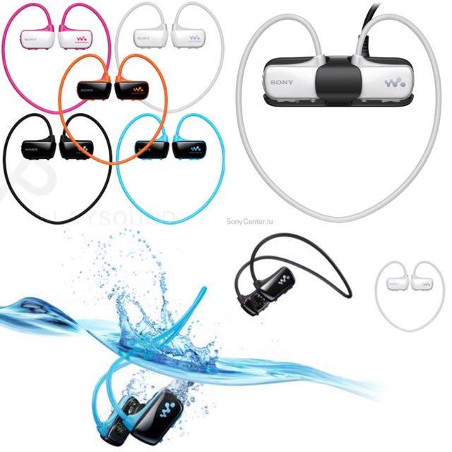 (暫售)Sony Walkman Nwz-w273s/274s 無線 防水 運動 耳機 隨身聽 MP3