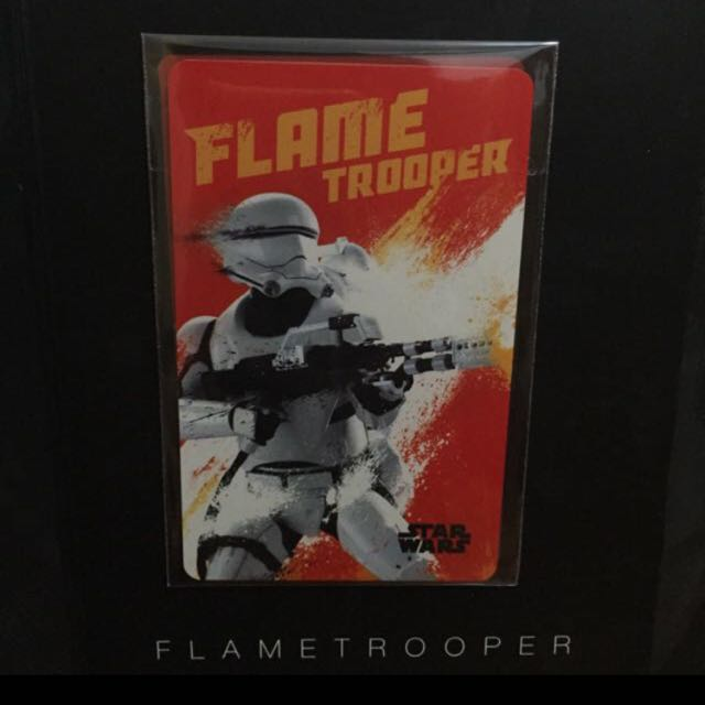 STAR WARS EZLINK CARD (FLAME TROOPER)