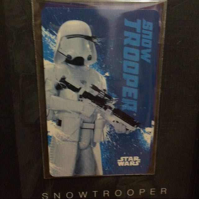 STAR WARS EZLINK CARD (SNOW TROOPER)