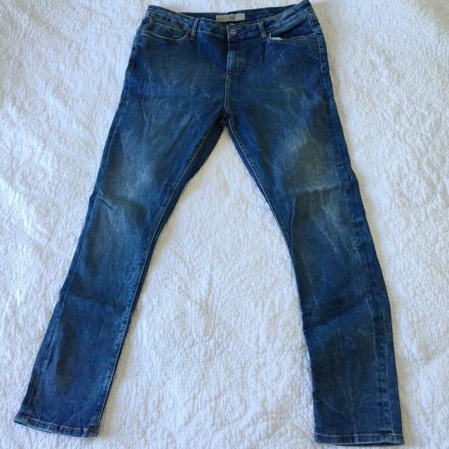 Topshop 'Jamie' Jeans
