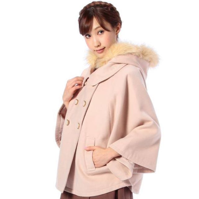 (含運)正版TRALALA粉色雙排扣外套