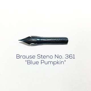 Brause Steno No 361 Nib (Blue Pumpkin)