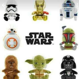 Starwars Limited Edition Plush Toys