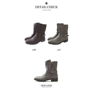大降價‼️Lulus QQ毛內裡中筒靴*39黑