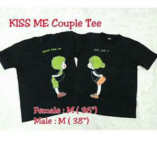 KISS ME Couple Tee