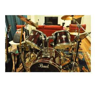 Pearl Vision VSX 5-Piece Fusion Drum Set