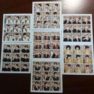 BTS Photocards Pt. 1 full set OFFICIAL