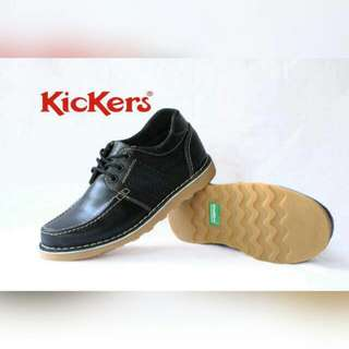 KICKERS LOW BOOTS || BLACK