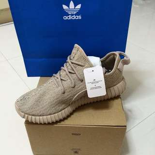 Selling A Pair Of Yeezy Boost350 Tan
