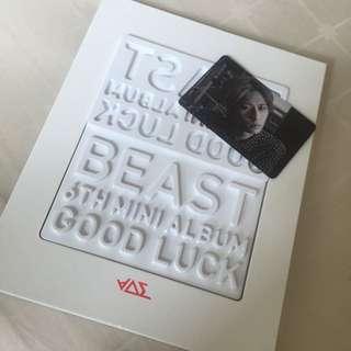💿 B2ST GOODLUCK ALBUM