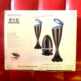 Brand New Speaker With Lights