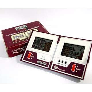 Nintendo Game & Watch Multi-Screen collection (vintage)