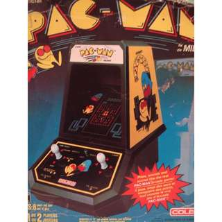 Vintage Coleco Arcade Game: Pac-Man