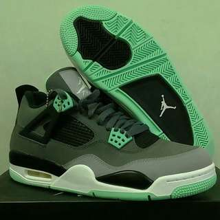 Air Jordan4 Green Low Us 9