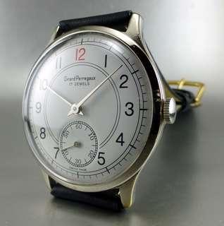 Girard Perregaux - Vintage Watch, Red 12 Marker