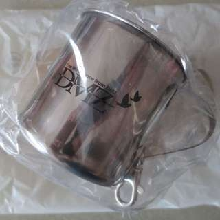 Steel mug from Korea DMZ (De-Militarized Zone) (brand new, with packaging)