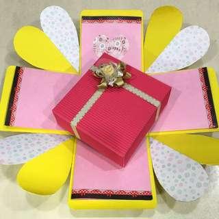 兩層禮物盒❤️