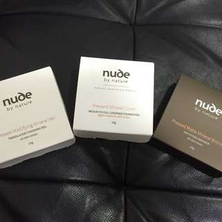 Nude Press Powders