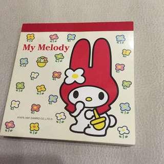Melody 便條紙