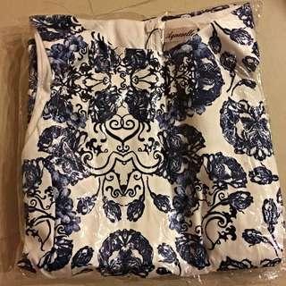 [BRAND NEW] Rosa Blue Print Dress From Agneselle