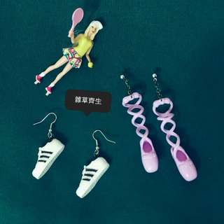 手作耳環 ♡少女の鞋櫃♡