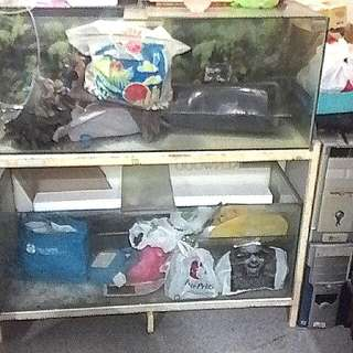 Double Layer Fish Tank with Metal Stand         --- 4 Ft