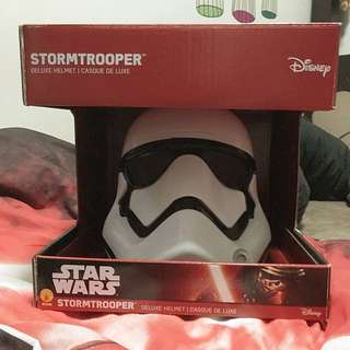 *RESERVED* Star Wars BNIB First Order Stormtrooper 1:1 Scale Disney Rubies 2 Piece Helmet