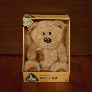 ELC (Early Learning Centre) Talking Ted (Teddy Bear) (Soft Toy)
