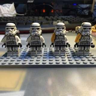 Lego Star Wars Sandtroopers (Tatooine) - 9490