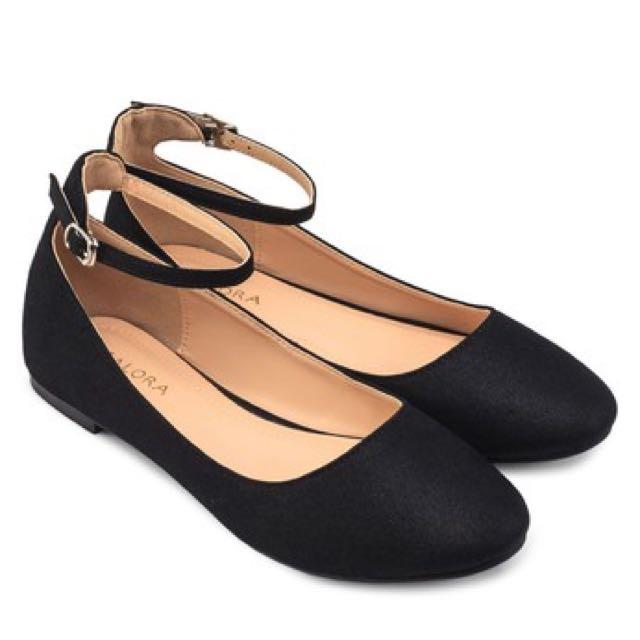 黑色瑪麗珍平底鞋❤️(下殺250)