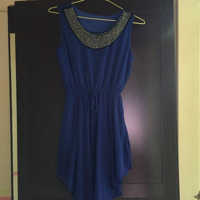 寶藍氣質小禮服🎉