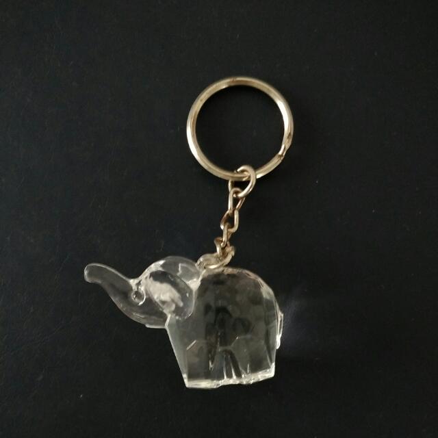 (贈送品)大象鑰匙圈