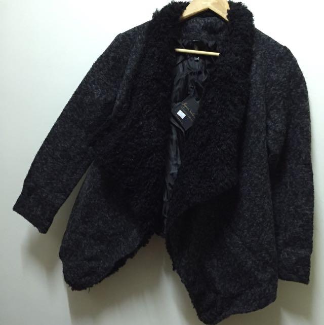 🌺全新冬裝出清賠售🌺毛呢造型大衣,兩色