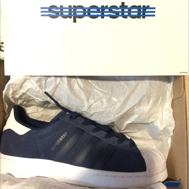 全新 2015年冬季新款Adidas Oringinals Superstar AQ5777 US 6 (24cm)