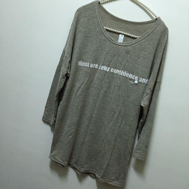 🌺全新冬裝出清賠售🌺韓 寬鬆長版上衣