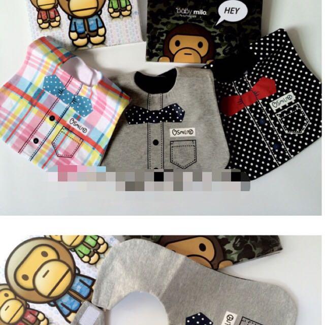 寶寶 圍兜 造型口水巾