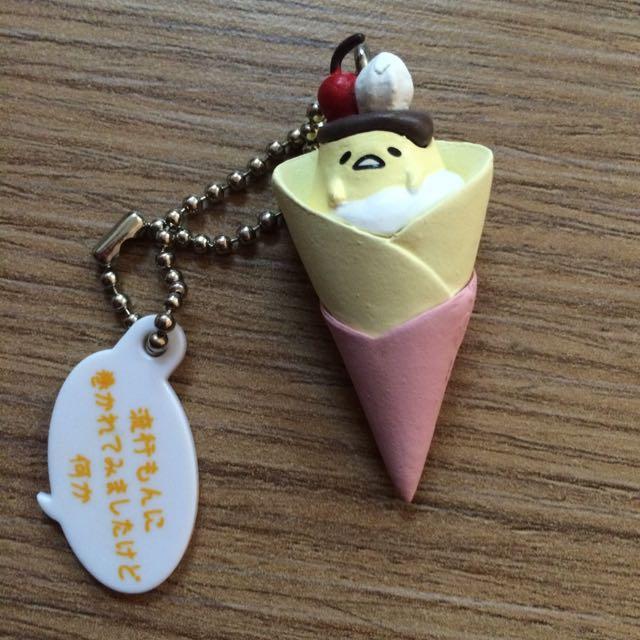 蛋黃哥 扭蛋 布丁 冰淇淋