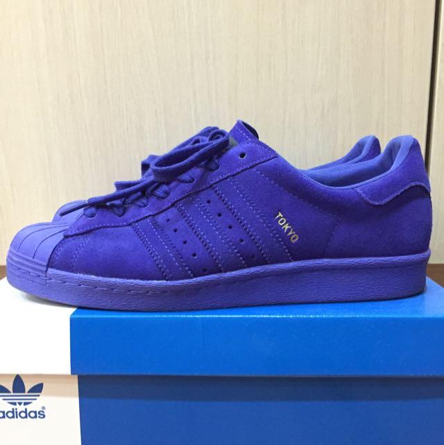 二手正品 adidas originals Superstar City 城市系列 東京 us 9號